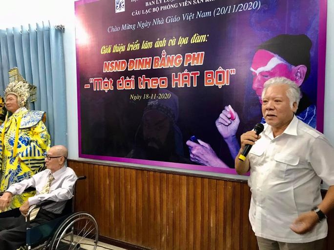 Nghệ sĩ tề tựu vinh danh NSND Đinh Bằng Phi - Ảnh 7.