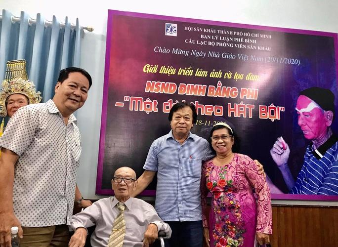 Nghệ sĩ tề tựu vinh danh NSND Đinh Bằng Phi - Ảnh 5.