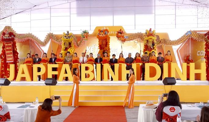 Japfa Việt Nam khánh thành nhà máy thức ăn chăn nuôi 300 tỉ đồng tại Bình Định - Ảnh 1.