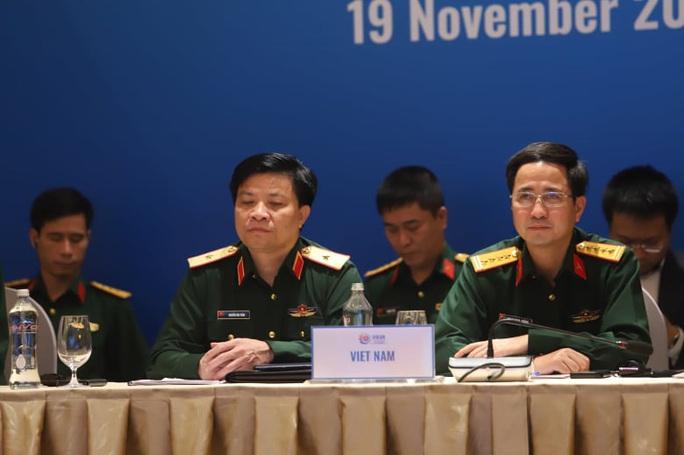 Thượng tướng Nguyễn Chí Vịnh chủ trì hội nghị quốc phòng với sự tham dự của Mỹ, Trung Quốc - Ảnh 4.