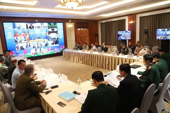 Thượng tướng Nguyễn Chí Vịnh chủ trì hội nghị quốc phòng với sự tham dự của Mỹ, Trung Quốc - Ảnh 3.