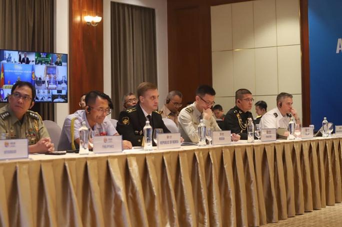 Thượng tướng Nguyễn Chí Vịnh chủ trì hội nghị quốc phòng với sự tham dự của Mỹ, Trung Quốc - Ảnh 5.