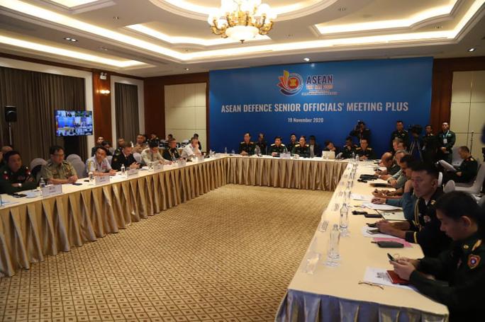 Thượng tướng Nguyễn Chí Vịnh chủ trì hội nghị quốc phòng với sự tham dự của Mỹ, Trung Quốc - Ảnh 6.