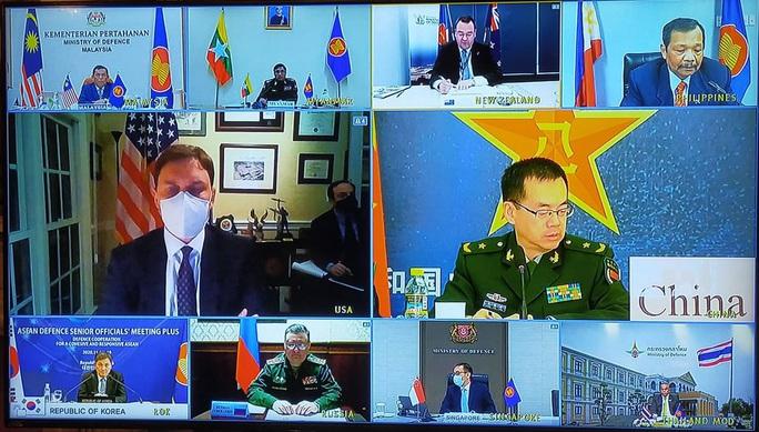 Thượng tướng Nguyễn Chí Vịnh chủ trì hội nghị quốc phòng với sự tham dự của Mỹ, Trung Quốc - Ảnh 2.