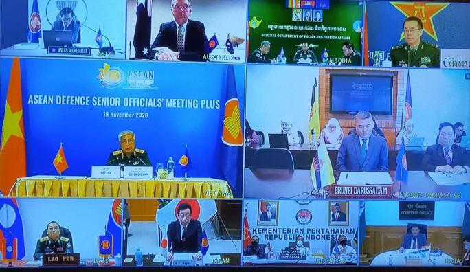 Thượng tướng Nguyễn Chí Vịnh chủ trì hội nghị quốc phòng với sự tham dự của Mỹ, Trung Quốc - Ảnh 1.