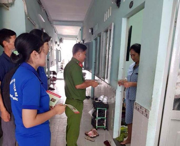 Tổ công nhân tự quản góp phần bảo vệ an ninh trật tự - Ảnh 1.