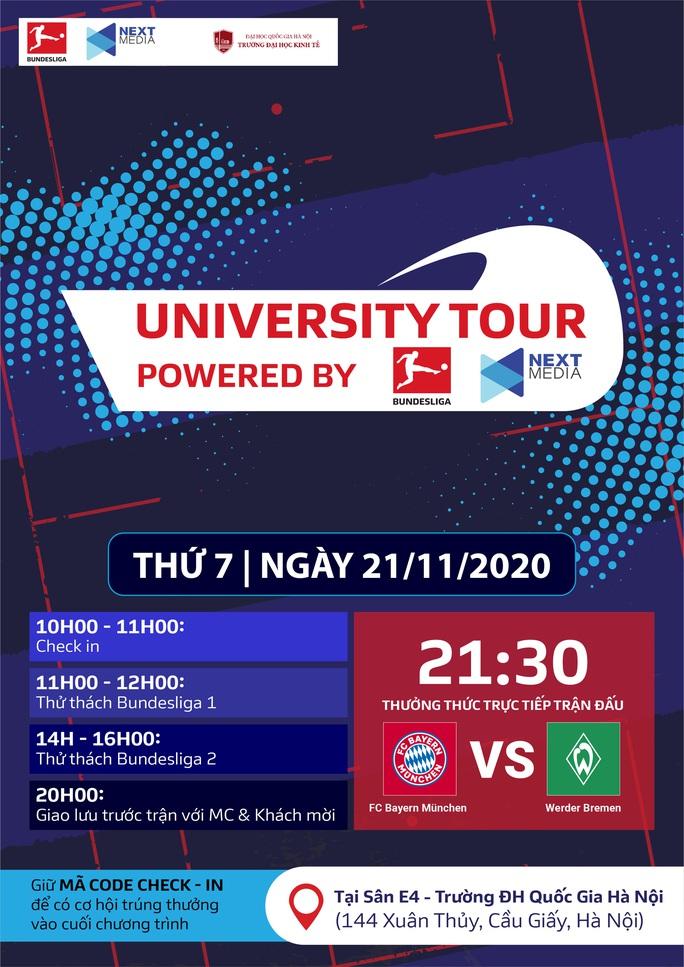 Next Media mang không khí Bundesliga tới trường đại học - Ảnh 2.
