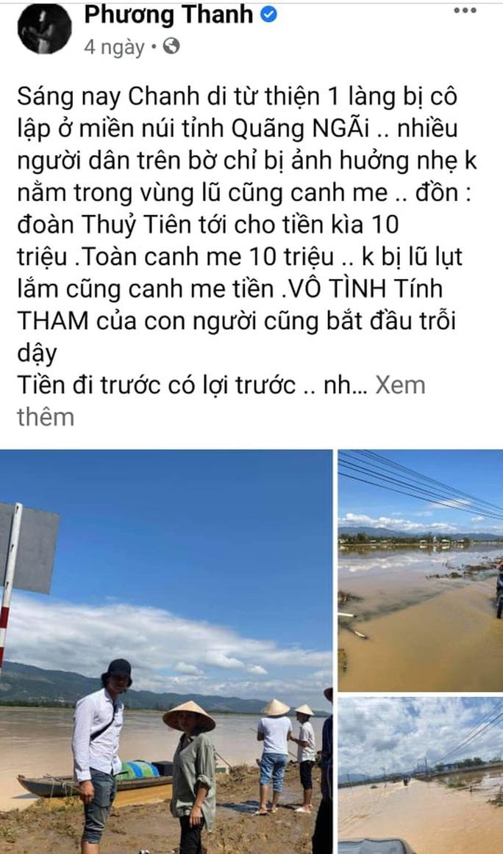 Ca sĩ Phương Thanh vẫn giữ bài viết về từ thiện dù Sở TT-TT TP HCM mời làm việc - Ảnh 3.