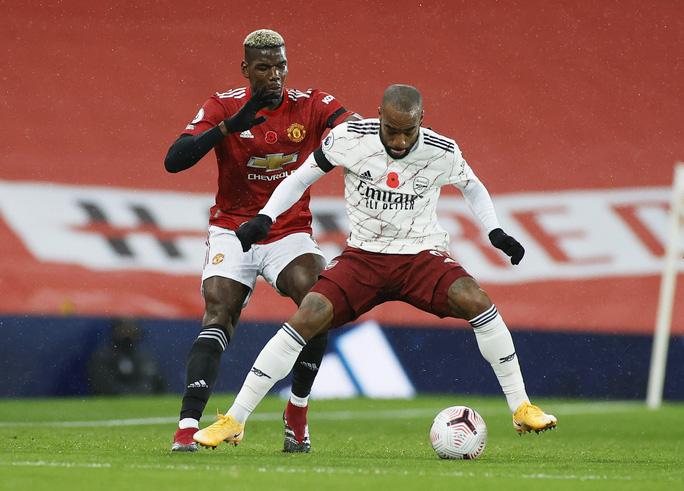 Paul Pogba tạo phạt đền, Man United gục ngã trước Arsenal  - Ảnh 1.