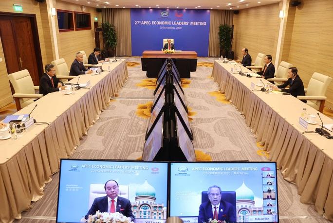 Thủ tướng đưa ra đề xuất có ý nghĩa chiến lược tại Hội nghị Cấp cao APEC - Ảnh 7.