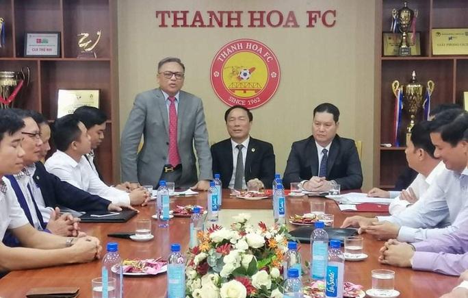 CLB Thanh Hóa có doanh nghiệp Bất động sản tài trợ, là bạn của bầu Đệ - Ảnh 1.
