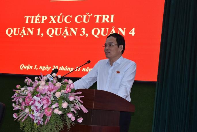 Phó Bí thư Thường trực Thành ủy TP HCM: Xin lỗi cử tri vì giải quyết vụ Thủ Thiêm rất chậm - Ảnh 2.