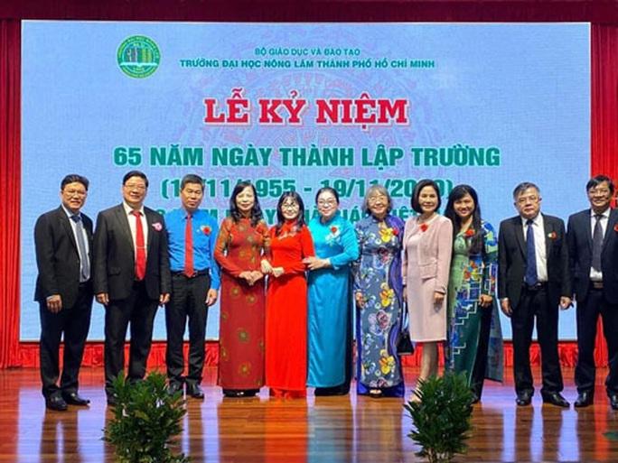 Trường ĐH Nông Lâm TP HCM kỷ niệm 65 năm thành lập - Ảnh 1.