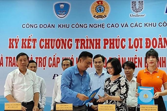 Đà Nẵng: Hợp tác chăm lo đoàn viên - Ảnh 1.