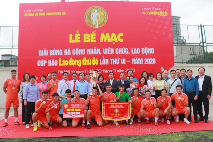 Hà Nội: Tạo sân chơi bổ ích cho CNVC-LĐ - Ảnh 1.