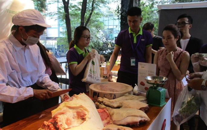 """Thịt heo rừng hữu cơ lần đầu xuất hiện tại """"Organic Town – Gis Market"""" - Ảnh 3."""