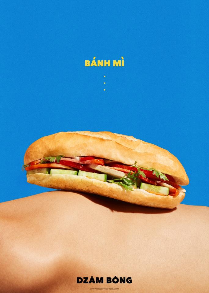 Phản cảm bộ ảnh thể hiện bánh mì Việt Nam - Ảnh 9.