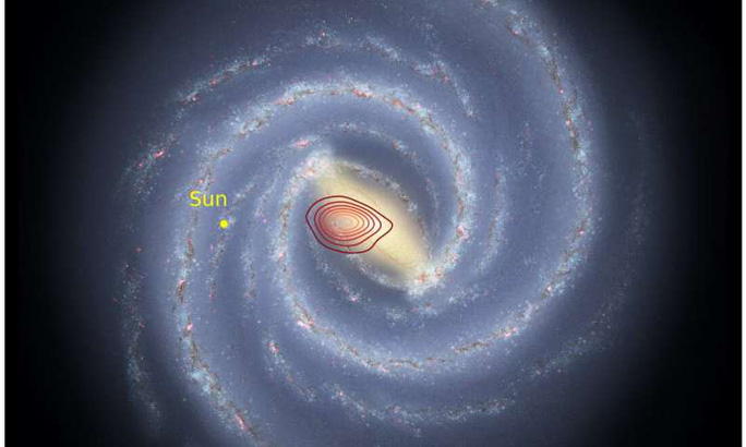 Kinh hoàng thiên hà hóa thạch bị quái vật chứa Trái Đất nuốt chửng - Ảnh 1.