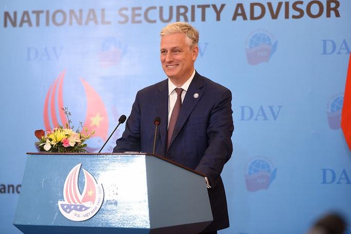 Cố vấn An ninh Quốc gia Mỹ nói chuyện với sinh viên: Quan hệ Việt-Mỹ còn vững mạnh hơn - Ảnh 15.