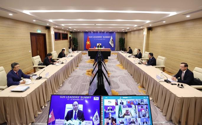 Thủ tướng Nguyễn Xuân Phúc dự Hội nghị thượng đỉnh G20 - Ảnh 3.