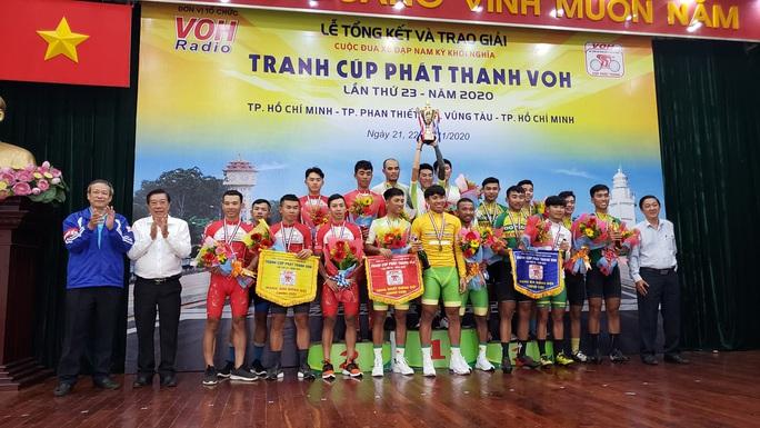 Nguyễn Huỳnh Đăng Khoa đoạt cúp đúp giải xe đạp Nam Kỳ Khởi Nghĩa - Cúp VOH 2020 - Ảnh 1.