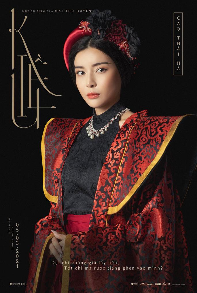 """Hóa Hoạn Thư trong """"Kiều"""", Cao Thái Hà được khen - Ảnh 2."""