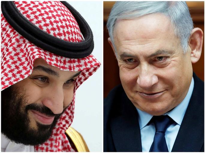 Dàn xếp cuộc gặp Israel - Ả Rập Saudi, Tổng thống Trump muốn khóa tay ông Biden - Ảnh 1.