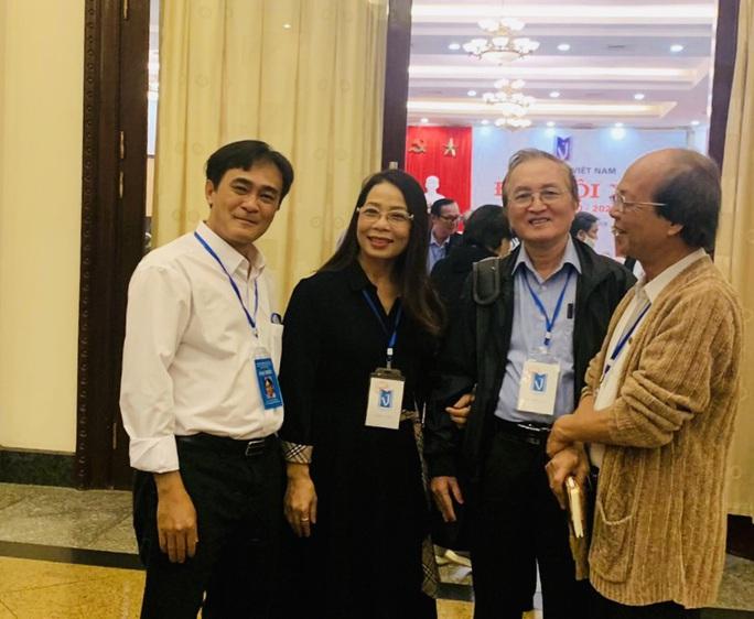Nhà thơ Nguyễn Quang Thiều được bầu làm Chủ tịch Hội nhà văn Việt Nam - Ảnh 1.