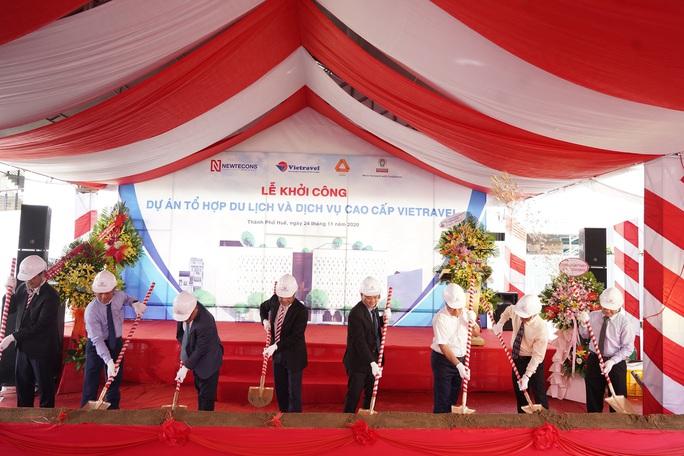 Vietravel khởi công dự án Tổ hợp du lịch và dịch vụ cao cấp tại Huế - Ảnh 1.
