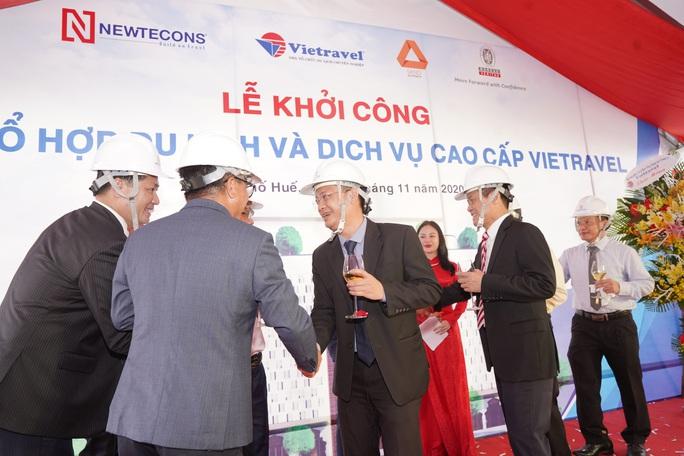 Vietravel khởi công dự án Tổ hợp du lịch và dịch vụ cao cấp tại Huế - Ảnh 3.
