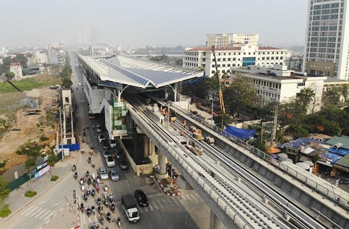 Phát hiện nhiều sai phạm tại dự án đường sắt đô thị Nhổn - ga Hà Nội - Ảnh 1.