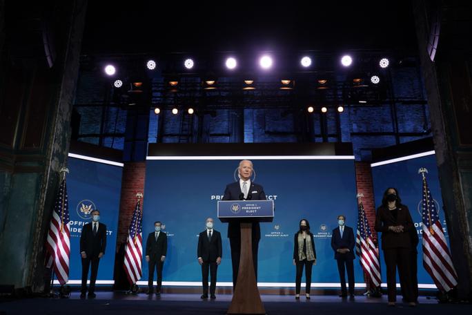 Ông Biden: Nước Mỹ đã trở lại, sẵn sàng đương đầu với kẻ địch - Ảnh 1.