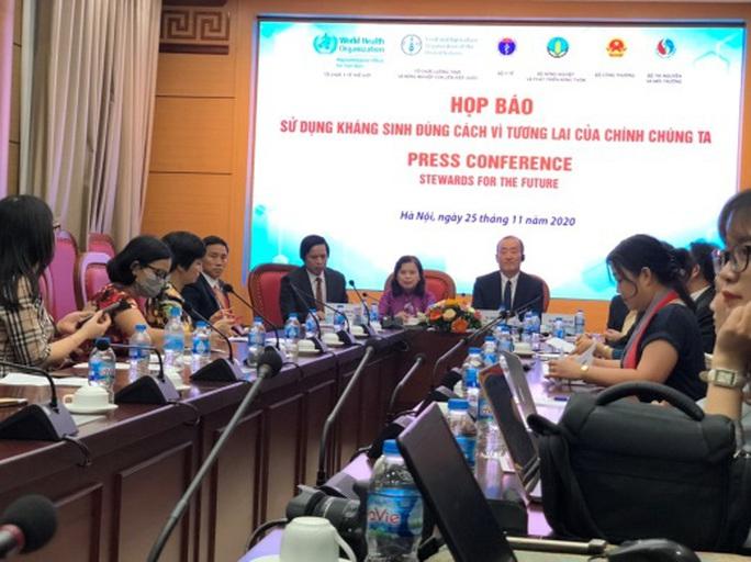 Việt Nam là nước có tỉ lệ kháng thuốc kháng sinh cao - Ảnh 1.