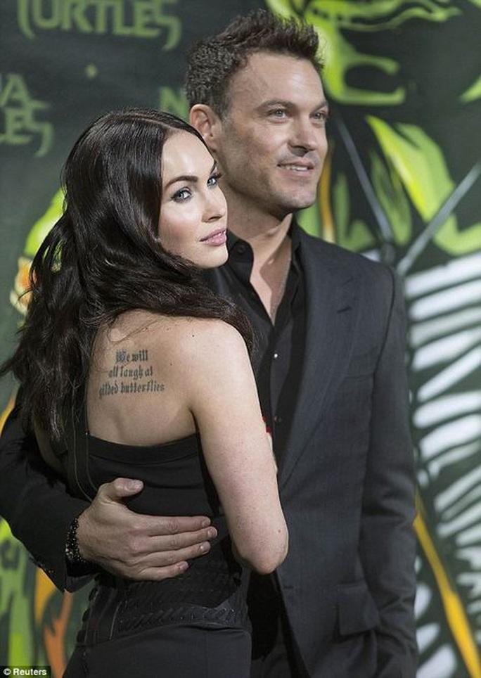 """""""Bom sex"""" Megan Fox đệ đơn ly hôn Brian Austin Green - Ảnh 2."""