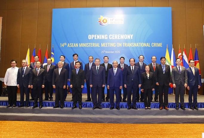 ASEAN chủ động phòng chống tội phạm xuyên quốc gia - Ảnh 1.