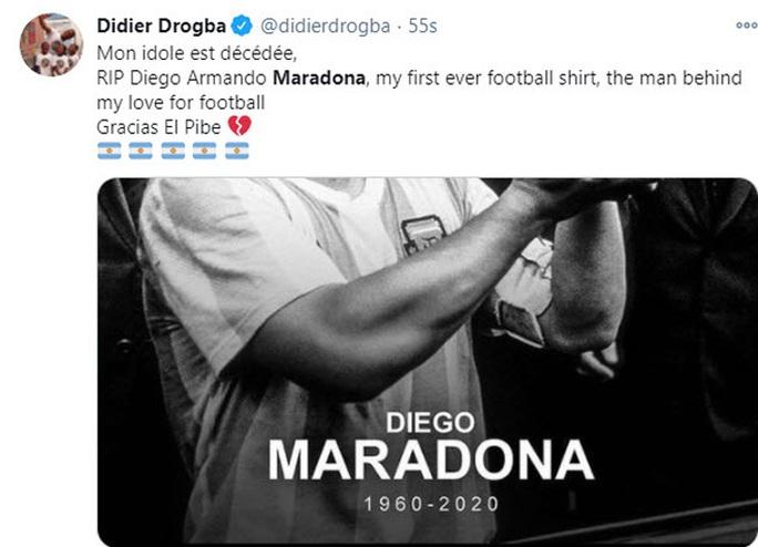 Pele, Ronaldo, Messi và thế giới bóng đá tiễn biệt Diego Maradona - Ảnh 6.