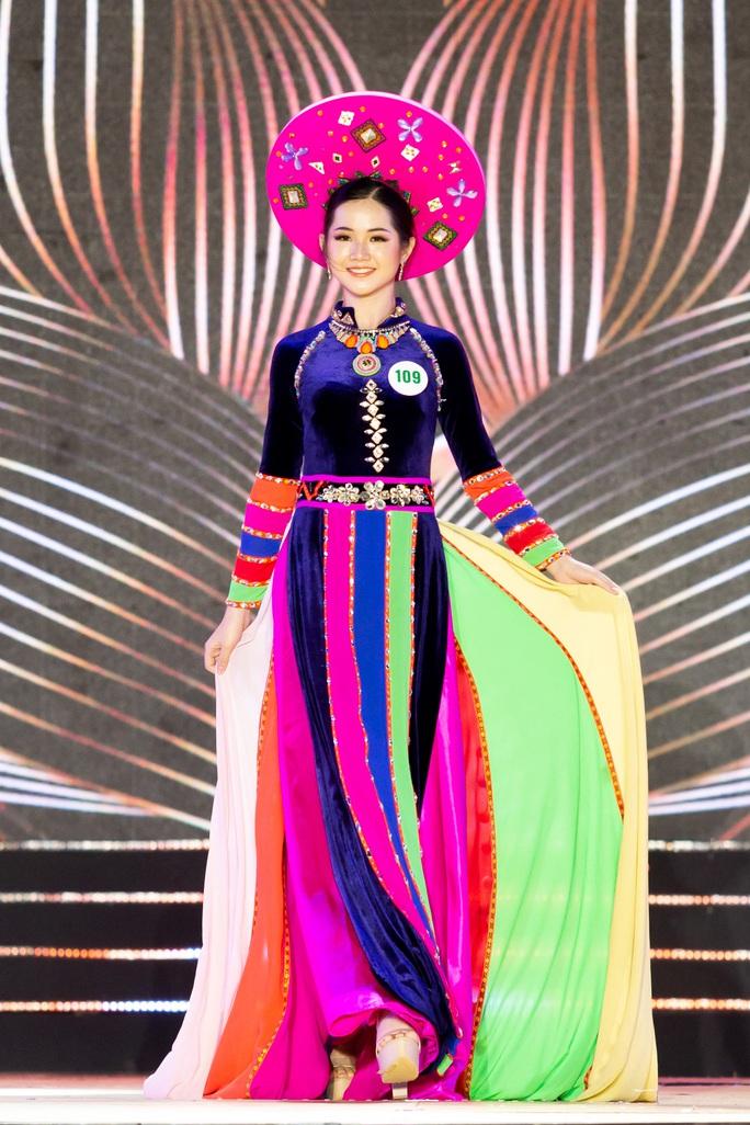 Lạ mắt với trang phục dân tộc của thí sinh Hoa khôi du lịch Việt Nam 2020 - Ảnh 13.