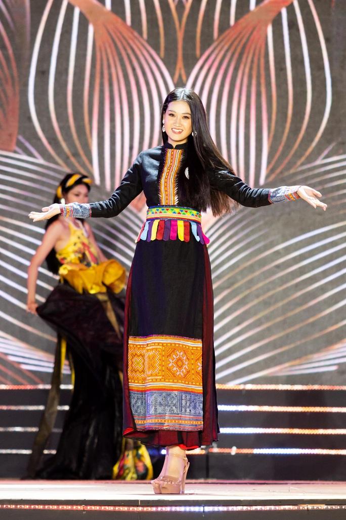 Lạ mắt với trang phục dân tộc của thí sinh Hoa khôi du lịch Việt Nam 2020 - Ảnh 6.
