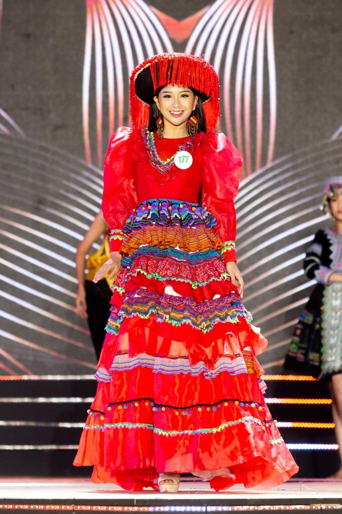 Lạ mắt với trang phục dân tộc của thí sinh Hoa khôi du lịch Việt Nam 2020 - Ảnh 4.