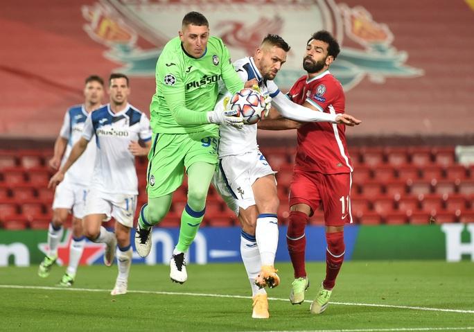 Ghi 2 bàn trong 3 phút, Atalanta thắng sốc Liverpool ở Anfield - Ảnh 2.