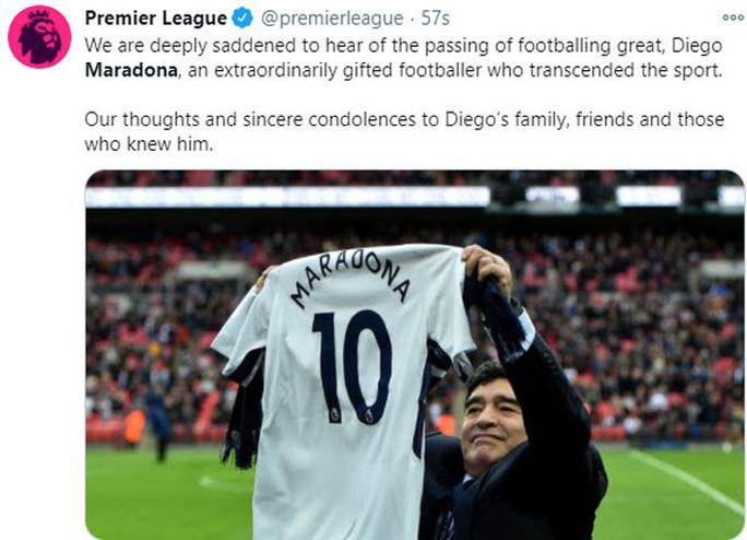 Pele, Ronaldo, Messi và thế giới bóng đá tiễn biệt Diego Maradona - Ảnh 5.