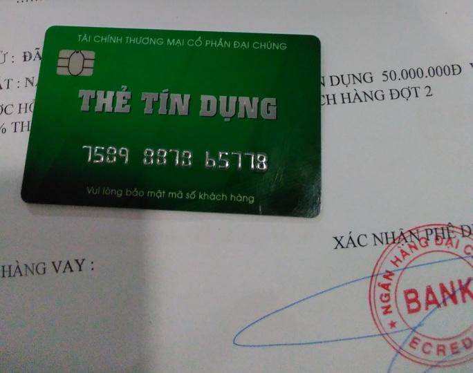 Thêm ngân hàng cảnh báo thủ đoạn lừa mở thẻ tín dụng chiếm đoạt tiền - Ảnh 1.