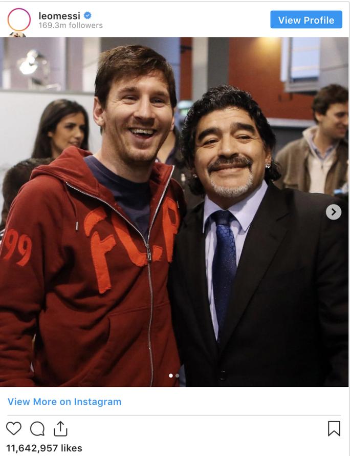 Pele, Ronaldo, Messi và thế giới bóng đá tiễn biệt Diego Maradona - Ảnh 3.