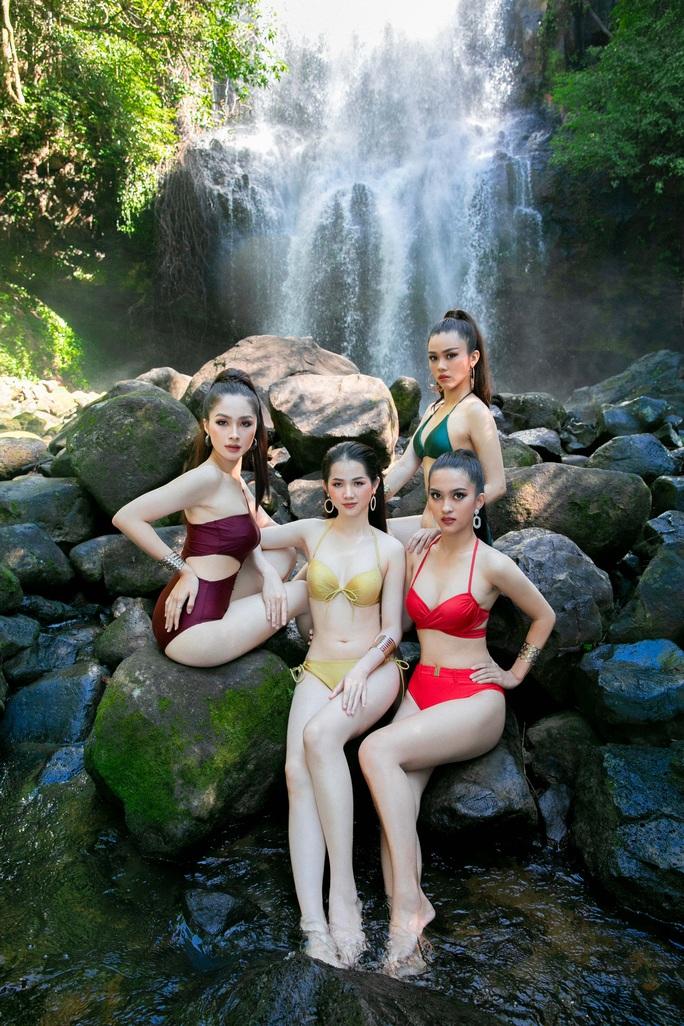 Diện bikini, ứng viên Hoa khôi Du lịch Việt Nam 2020 lại bị chê - Ảnh 4.