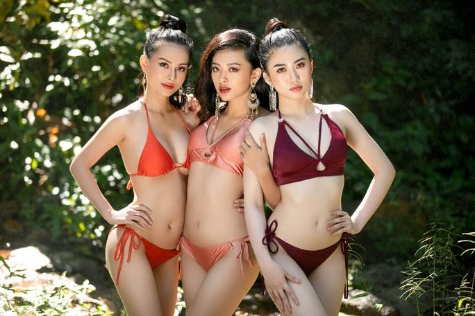 Diện bikini, ứng viên Hoa khôi Du lịch Việt Nam 2020 lại bị chê - Ảnh 3.