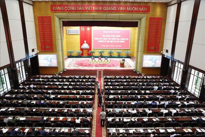 Tổng Bí thư, Chủ tịch nước chỉ đạo hội nghị kiểm tra, giám sát của Đảng - Ảnh 7.
