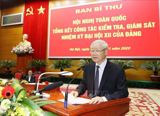 Tổng Bí thư, Chủ tịch nước chỉ đạo hội nghị kiểm tra, giám sát của Đảng - Ảnh 8.