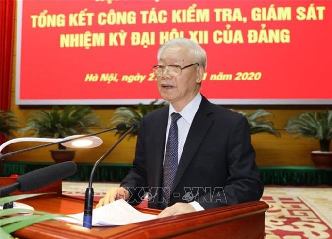 Tổng Bí thư, Chủ tịch nước chỉ đạo hội nghị kiểm tra, giám sát của Đảng - Ảnh 9.