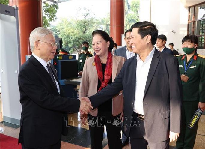Tổng Bí thư, Chủ tịch nước chỉ đạo hội nghị kiểm tra, giám sát của Đảng - Ảnh 2.