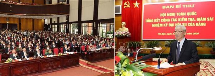 Tổng Bí thư, Chủ tịch nước chỉ đạo hội nghị kiểm tra, giám sát của Đảng - Ảnh 11.